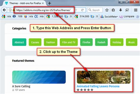 firefox themes edit how to change firefox theme easily on windows 7