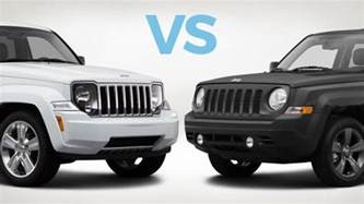 Jeep Patriot Vs Wrangler Which To Buy Jeep Liberty Vs Jeep Patriot Carmax