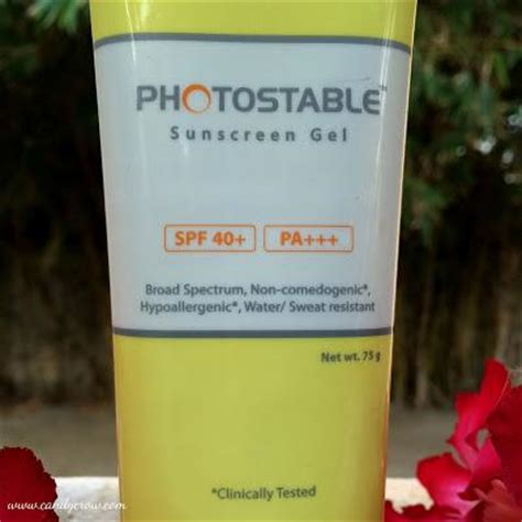 Best Gel L by Photostable Sunscreen Gel Review Best Sunscreen For