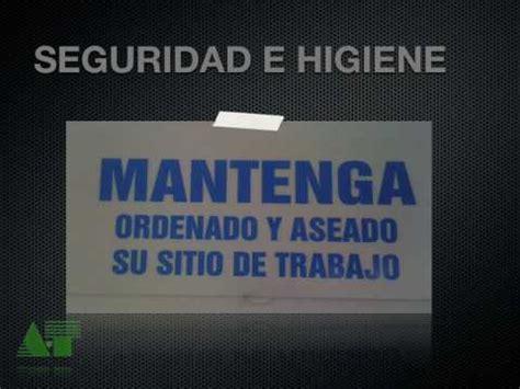 seguridad e higiene en un taller de corte y confeccion normas de seguridad en el aula taller de tecnolog 205 a youtube