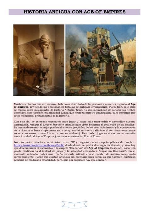 historia antigua historia antigua age