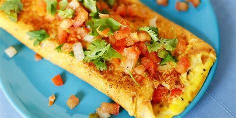 resep membuat chesse omelet resep membuat omelet telur sayur bergizi dan nikmat