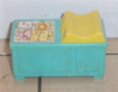 Fisher Price Changing Table Fisher Price Blue Changing Table Vintage 70 S