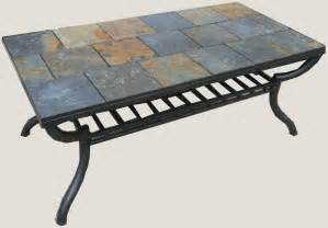 Tile Coffee Table Slate Tile Coffee Table