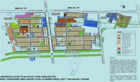 layout plan of mohali dlf hyde park bungalows in mullanpur mohali price