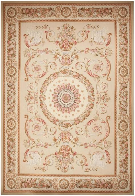 abusson rugs modern aubusson rug 44693 detail large view by nazmiyal