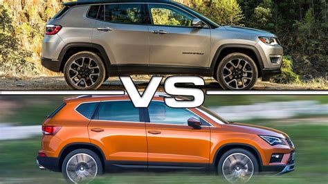 jeep compass 7 seater 2017 jeep compass vs 2017 seat ateca youtube