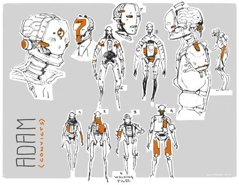 design concept unity adam production design for the real time short film