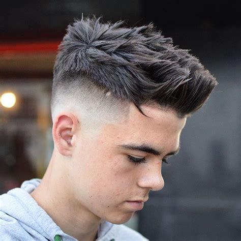 short spiky fade haircut 27 haircut styles for men 2016