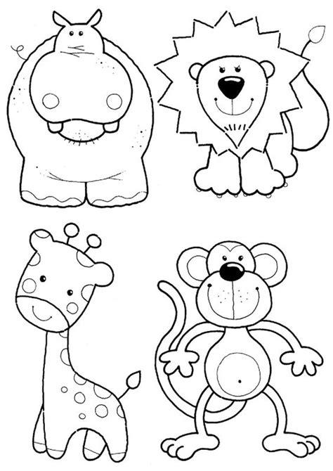 imagenes para colorear animales de la selva animales de la selva para colorear dibujos para colorear
