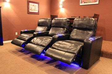 row   theater chairs  frisco tx traditional home