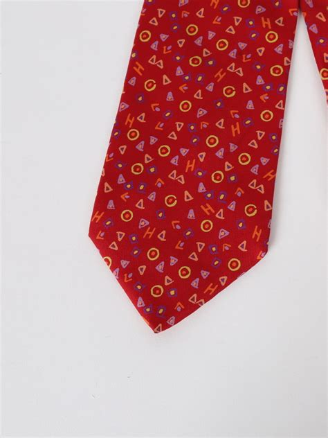 colorful ties herm 233 s colorful letters silk tie luxury bags
