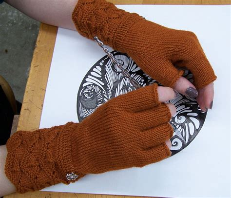 knit gloves pattern masala fingerless gloves pattern knitting patterns and
