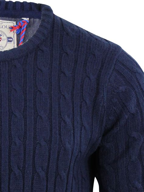 cable knit sweater mens mens navy cable knit jumper crochet and knit