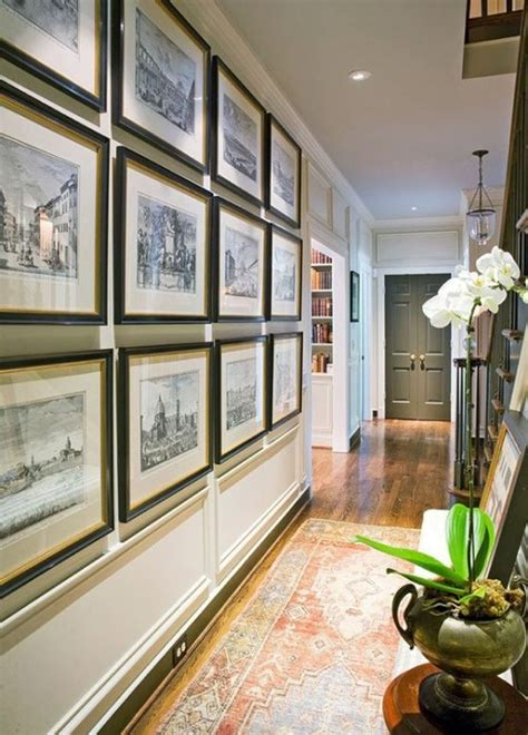 gallery wall design 25 best hallway walls make your hallways as beautiful as