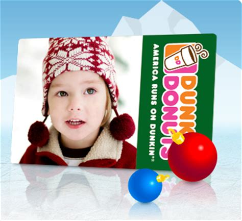 Dunkin Donuts Personalized Gift Cards Coupon - familiarity marketing tristate business solutions