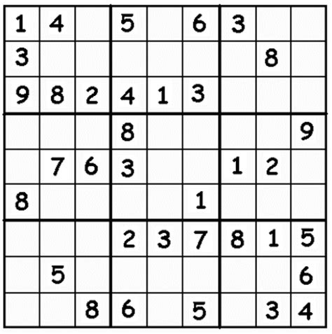 printable sudoku puzzles with instructions printable sudoku