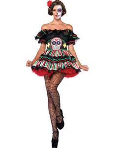 Day Of The Dead Costumes Day Of The Dead Doll Womens Costume Themes