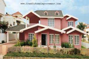 colour shades with names for external home photo