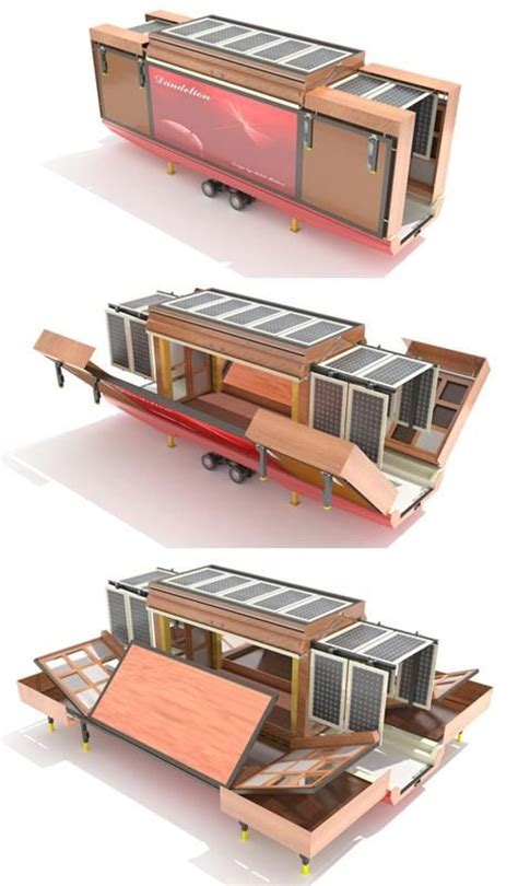 unboxed the mobile spacious unfolding flat pack house