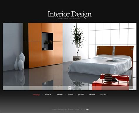 6 Best Swish Interior Website Themes Templates Free Premium Templates Interior Design Templates
