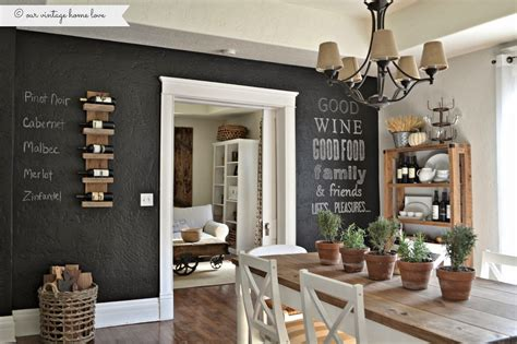 ideas for kitchen wall chalkboard wall ideas to create a unique interior