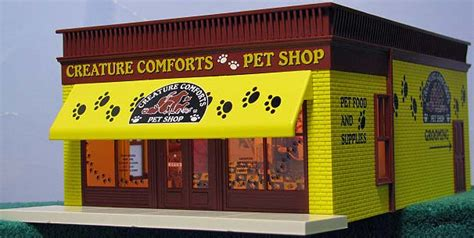 creature comforts pet store lionel 16848 pet store with sounds