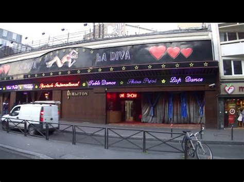 paris red light districts shocking youtube