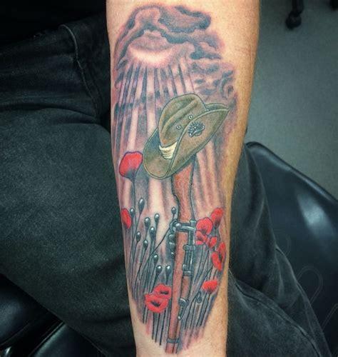anzac tattoo designs anzac tribute tattoos by davin