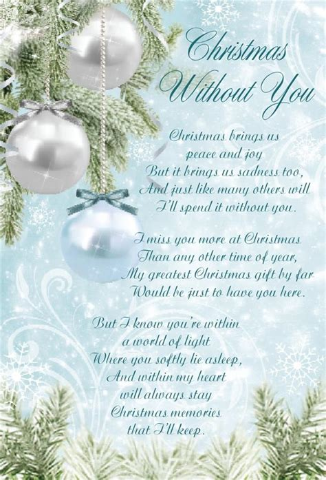 images of christmas without you christmas graveside memorial bereavement cards variety ebay