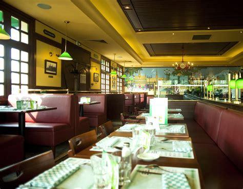 decoration restaurant identit 233 spatiale et d 233 coration des restaurants l 233 on de