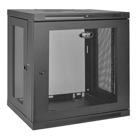 switch cabinet wall mount tripp lite smartrack 12u low profile switch depth wall