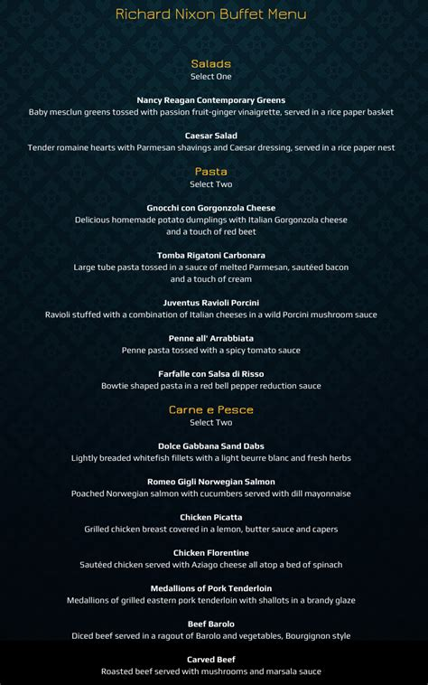 Anaheim White House Menu by Anaheim White House Catering Oc Restaurant Guides
