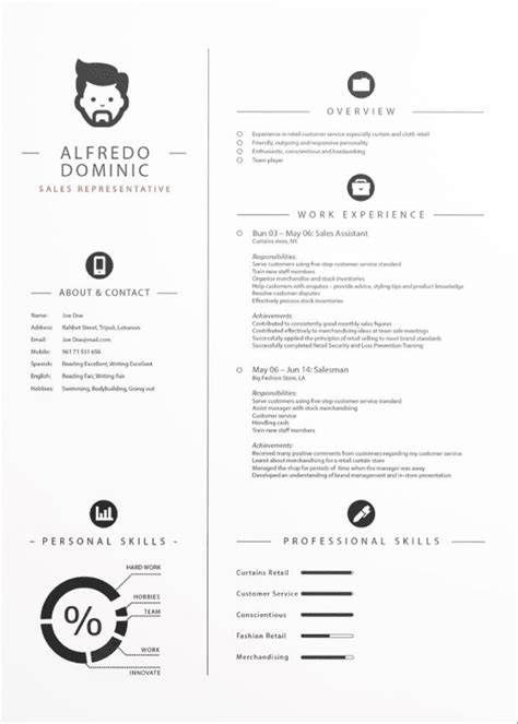 Adobe Illustrator Cv Template by Cv Templates Adobe Illustrator Free Resume Exles Cv