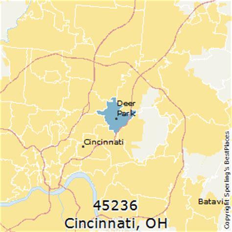 zip code map cincinnati best places to live in cincinnati zip 45236 ohio