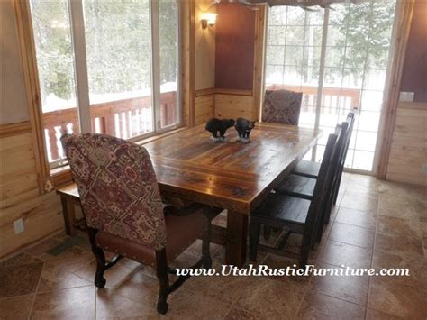 Dining Room Sets Utah Bradley S Furniture Etc Utah Rustic Dining Table Sets