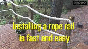 How To Install Decking Handrail How To Install A Railing Youtube