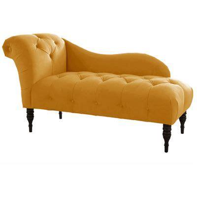 yellow velvet chaise lounge tufted upholstered chaise velvet antique gold 439