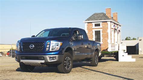 towing a tiny house towing a tiny house with the 2016 nissan titan xd