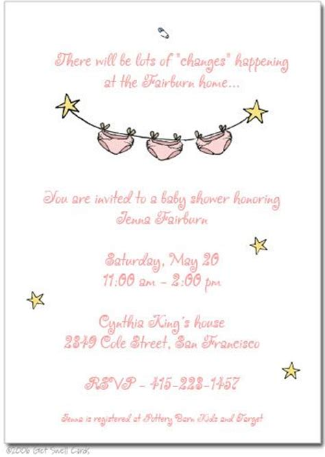 Invitation Wording Babies And S Ers On Pinterest