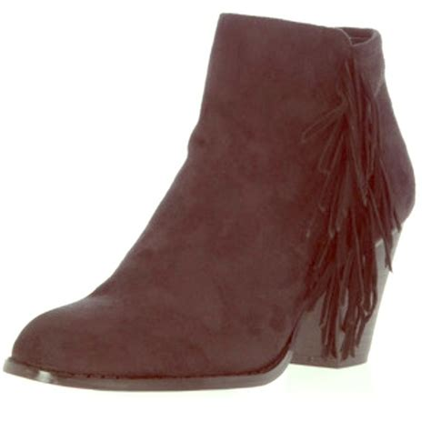 fringe boots forever 21 forever 21 fringe ankle boots from s closet on