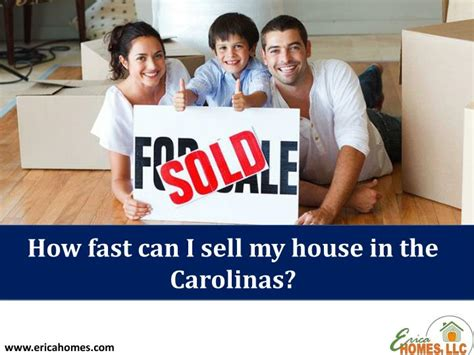ppt how fast can i sell my house in the carolinas