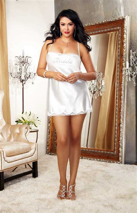 bedroom lingerie sexy bride honeymoon satin chemise dress bedroom lingerie