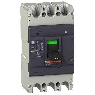 Breaker Schneider Ezc400n 3p 320a easypact ezc400h tmd mccb 320a 3p power circuit breaker