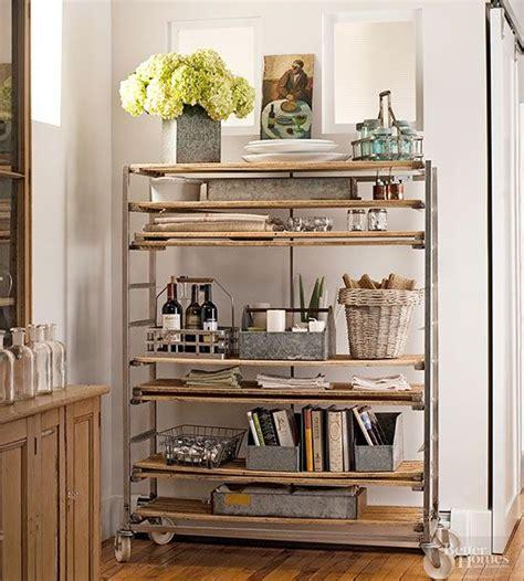 Open Closet Shelves Flea Market Storage Ideas Antique Wood