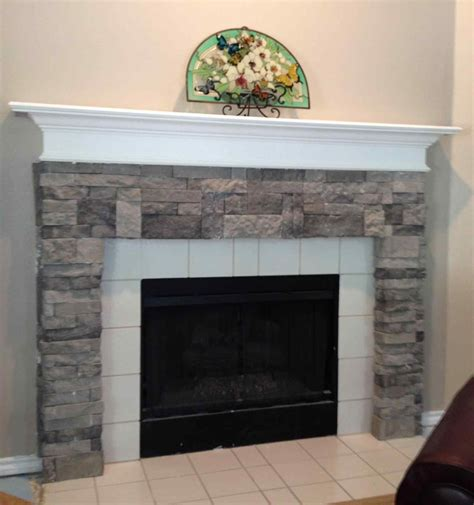 Faux Fieldstone Fireplace by Faux Fireplace Diy Cpmpublishingcom