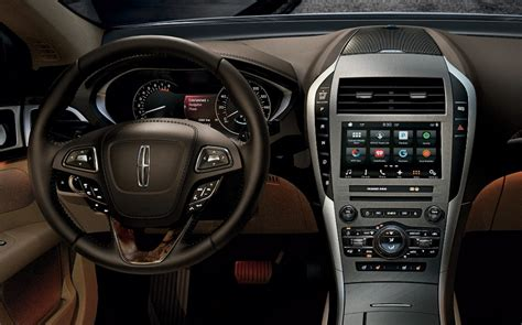 lincoln 2017 inside the interior of the 2017 lincoln mkz the wheel