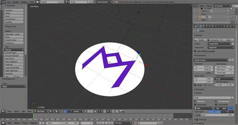 tutorial logo blender creating the logo in blender breta hajek