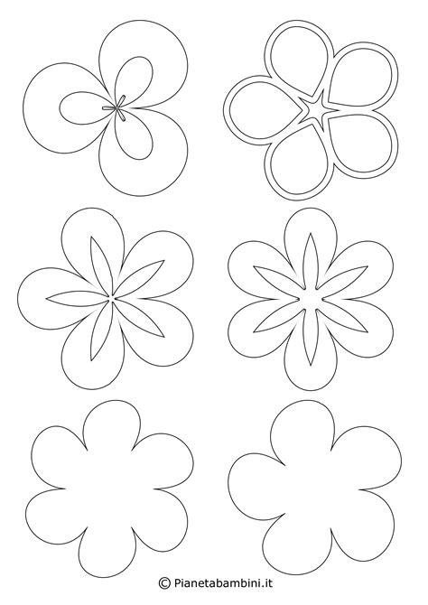 colorare fiori disegni di fiori