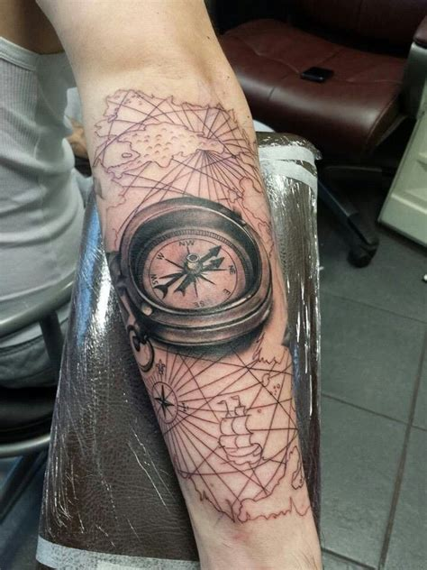 tattoo compass lines 42 best images about tattoos on pinterest compass tattoo